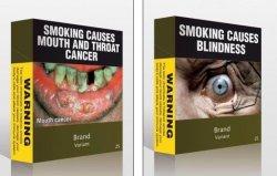 Страшные картинки на сигаретах не пугают подростков