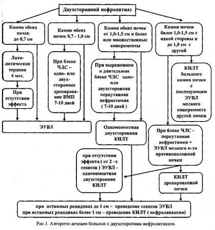 Проблемы патогенеза нефролитиаза и профилактика повторного камнеобразования